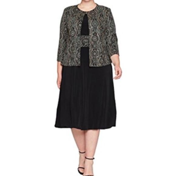 Jessica Howard Dresses Two Piece Plus Size Dress Poshmark